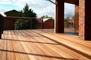 Dealing with spills & stains on your timber patio